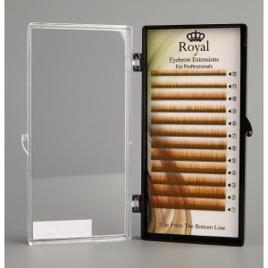 Royal Eyebrow Extensions Mix 0.15mm - Blond