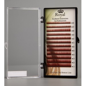 Royal Eyebrow Extensions Mix 0.10mm - Maro roscat
